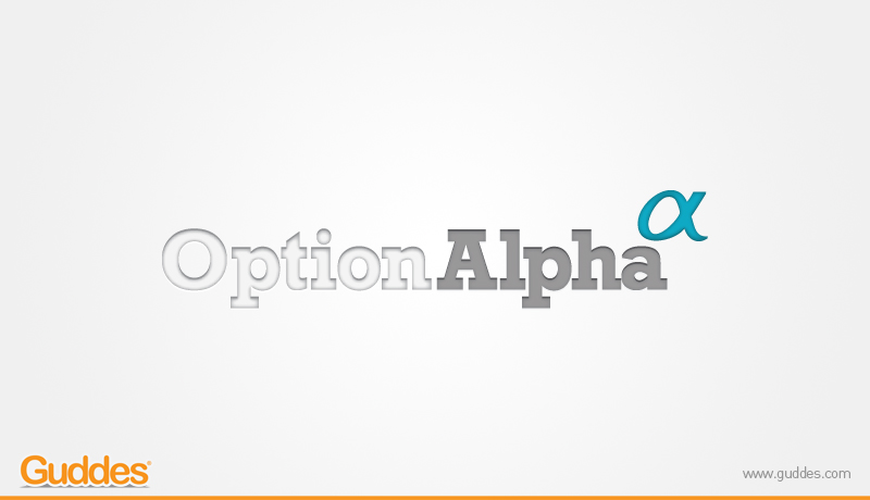 Option Alpha X Logo Design