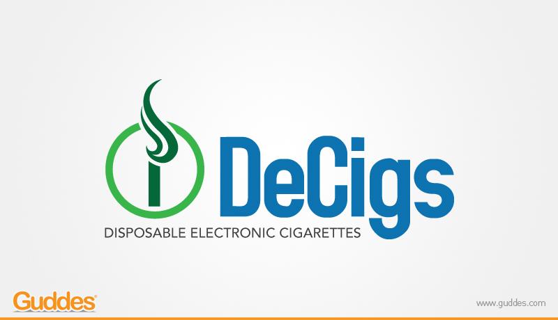 DeCigs Logo Design