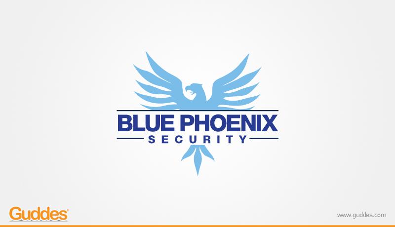 Blue Pheonix Logo design