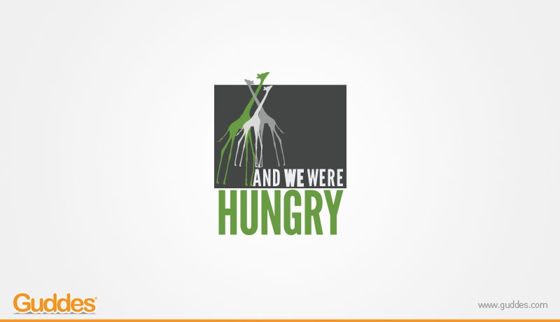And We Were Hungry Logo Design