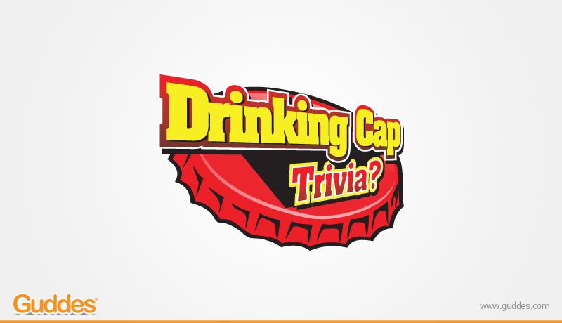 Drinking cap Trivia Logo Design