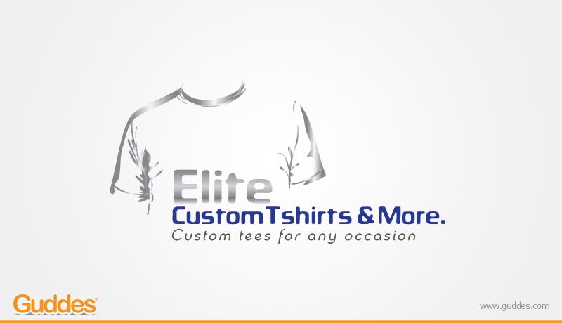 Elight Costum T-shirts Logo Design