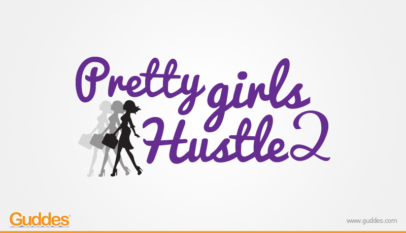 Pretty Girl Hustle 2 Logo Design