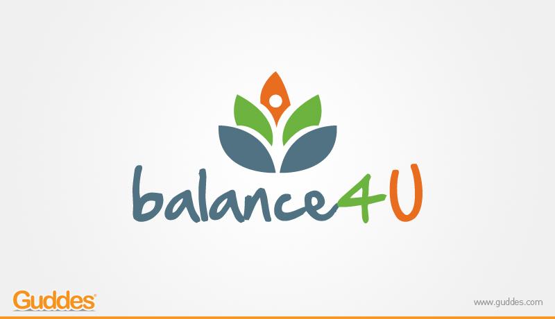 Balance 4 u  Logo design