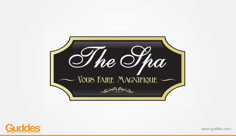 The Spa Logo Design