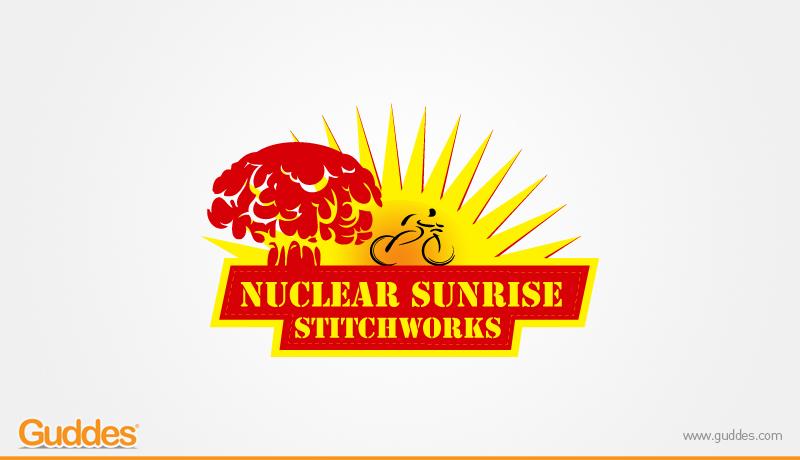 Nuclear Sunshine  Logo Design