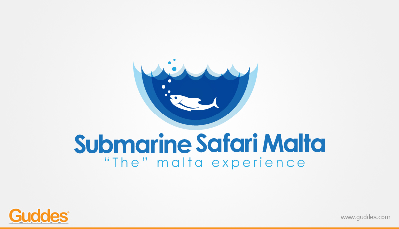 Submarine Safari Malta Logo Design