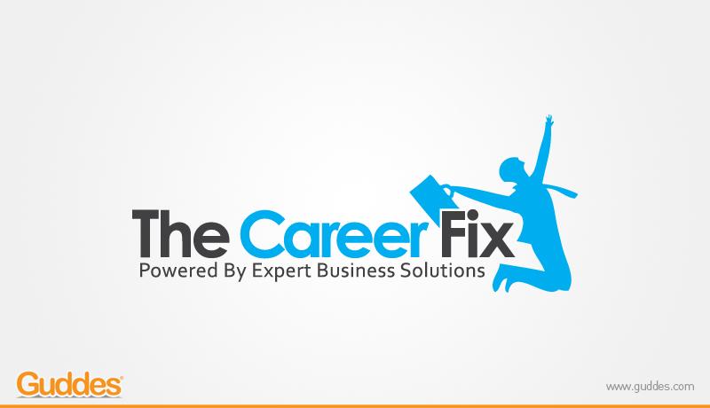 The Career Fix Logo Design