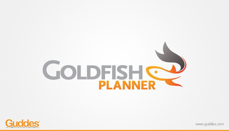Goldfish Planer Logo Design
