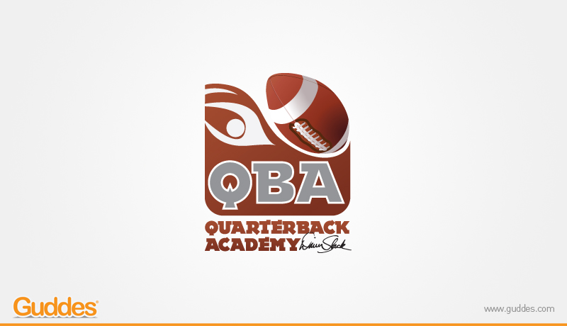 QBA foot ball Academy  Logo Design