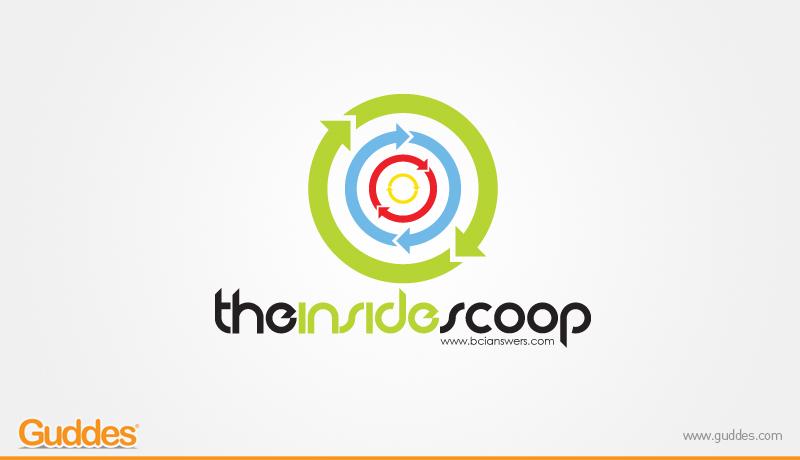 The Inside Scoop Logo Design