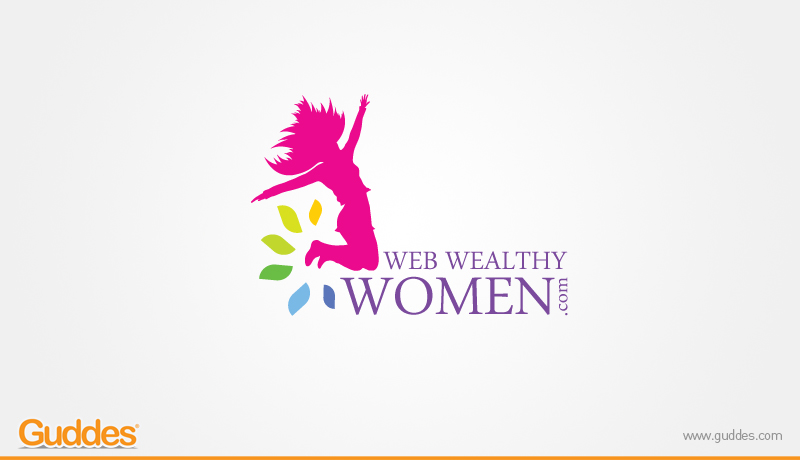 Web Wealthy Women Logo Design